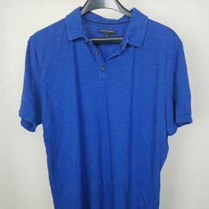 Banana Republic Men XL Polo 100% Cotton